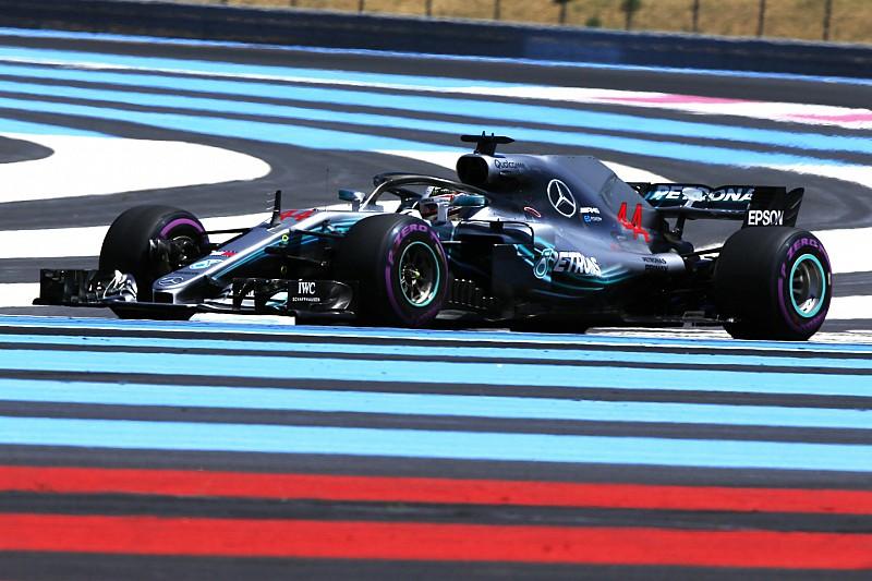 Hamilton nyerte az első edzést a Francia Nagydíjon: Ericsson autója lángolt