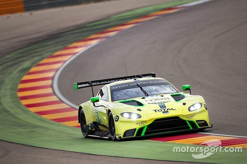 Aston Martin's new WEC car logs 20,000km in testing