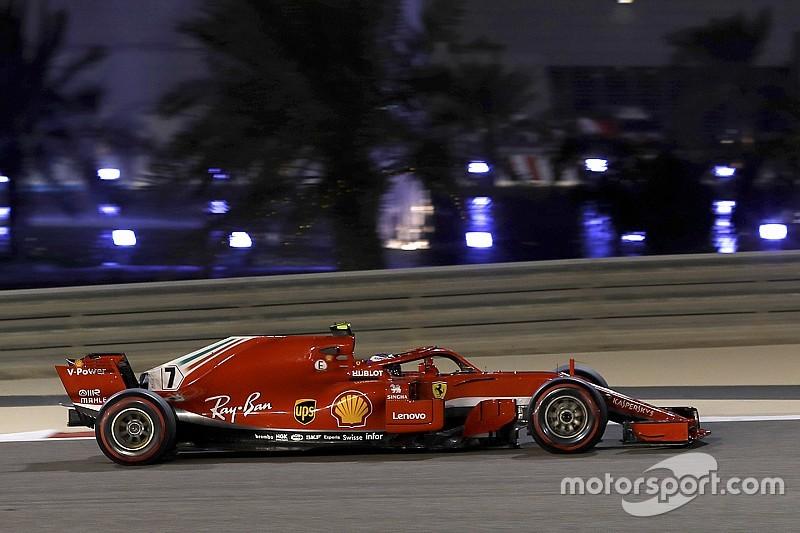 バーレーンFP2:ライコネン首位でフェラーリが1-2。ガスリー8番手