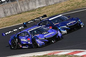 Super GT Testing report Button stays on top as Super GT test ends