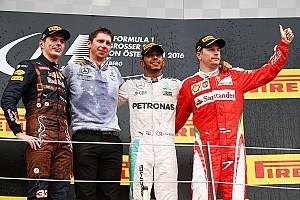 F1 レースレポート F1オーストリアGP決勝:メルセデス再び同士討ちも、ハミルトン優勝
