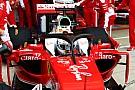Ferrari опробовала Halo 2 по ходу тренировки в Сильверстоуне