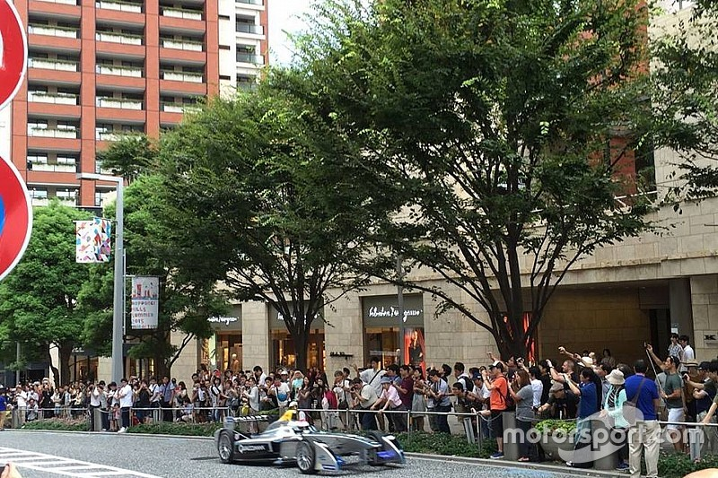 Tokyo e Yokohama in lizza per una gara di Formula E