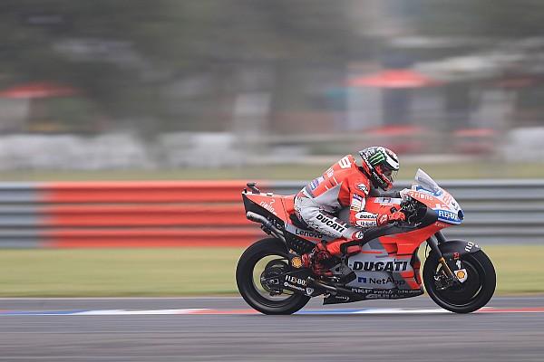 Lorenzo: Ducati'nin yeni bir kanatçık kaplamasına ihtiyacı var