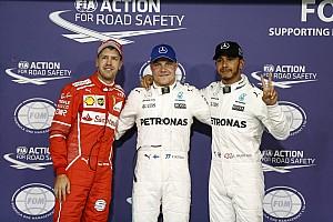 Fórmula 1 Crónica de Clasificación La parrilla de salida de Abu Dhabi