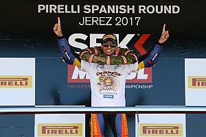 WSBK Artículo especial El español Marc García, primer Campeón del Mundo del WorldSSP300