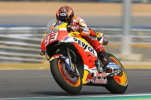 MotoGP Testing report Marquez heads Honda 1-2 on second Thailand test day