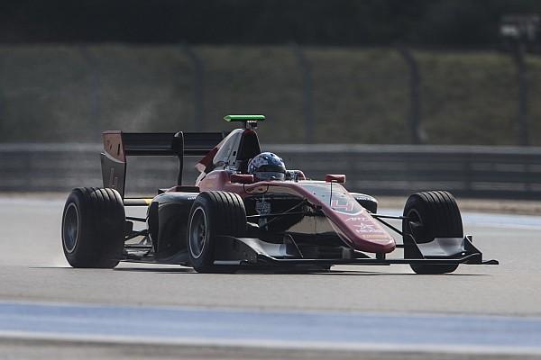 GP3 Репортаж з тестів Х'юз очолив протокол першого дня тестів GP3