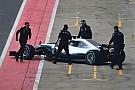 Fotogallery: l'esordio in pista della Mercedes W09