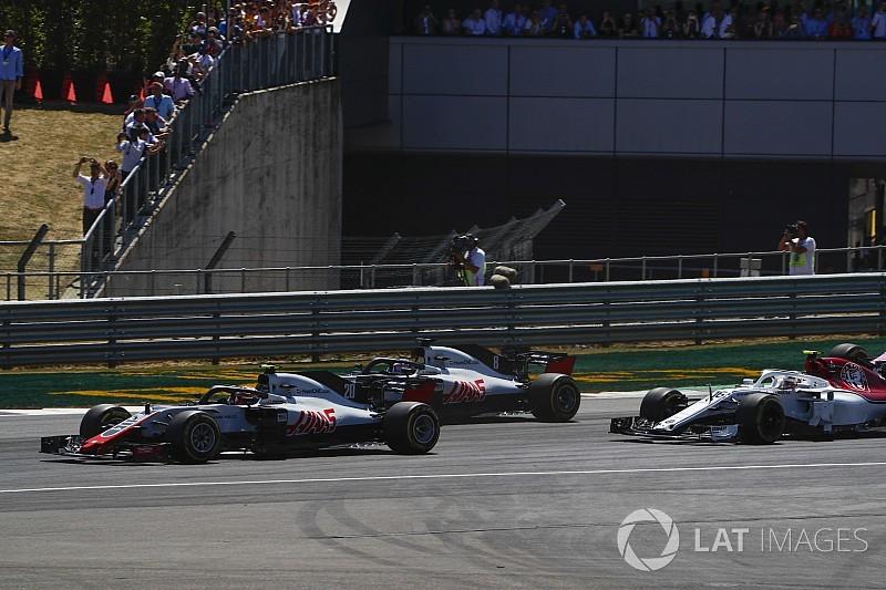Haas: Grosjean apologised for Magnussen clash