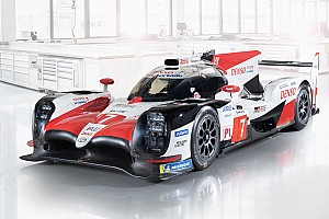 Toyota presentó su auto para el WEC 2018/2019