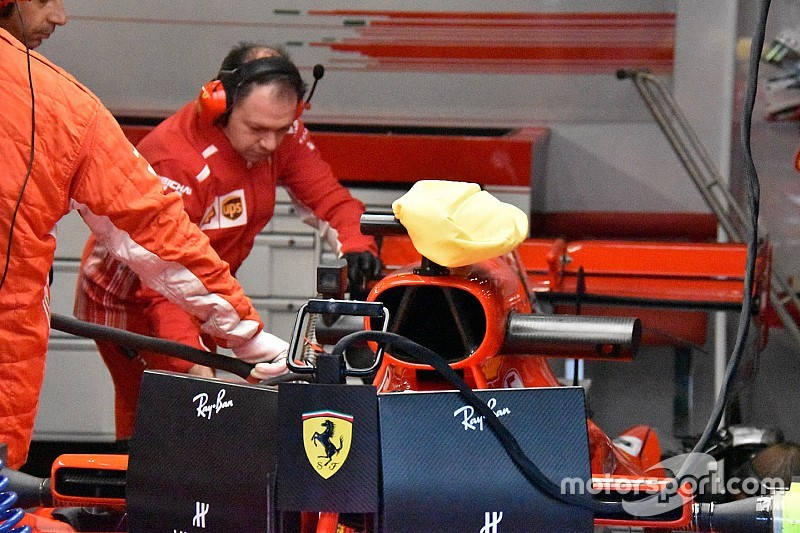 La FIA prohibe a Ferrari usar la bolsa para enfriar la cámara