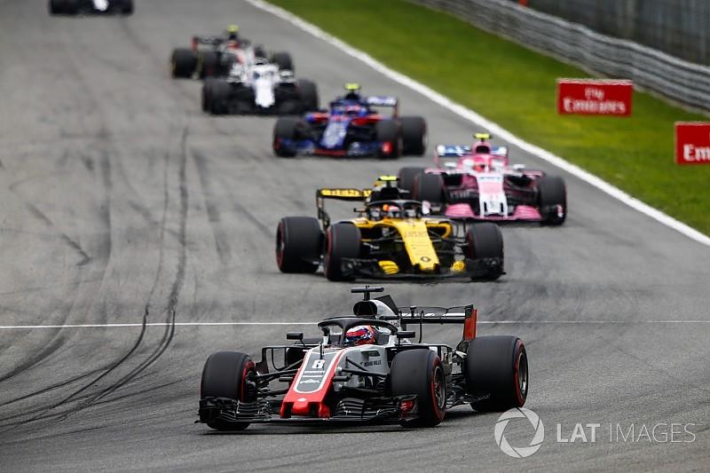 Grosjean fait passer Haas devant Renault au championnat