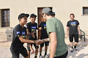 Momen pertemuan M Faerozi dengan Rossi