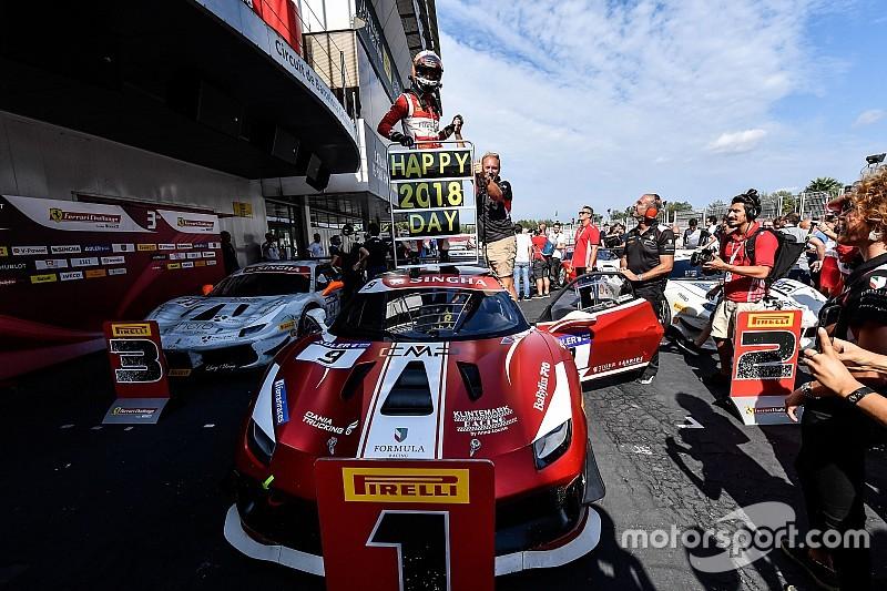 Ferrari Challenge Europe: Nielsen campione nella giornata da sogno di Manu Gostner