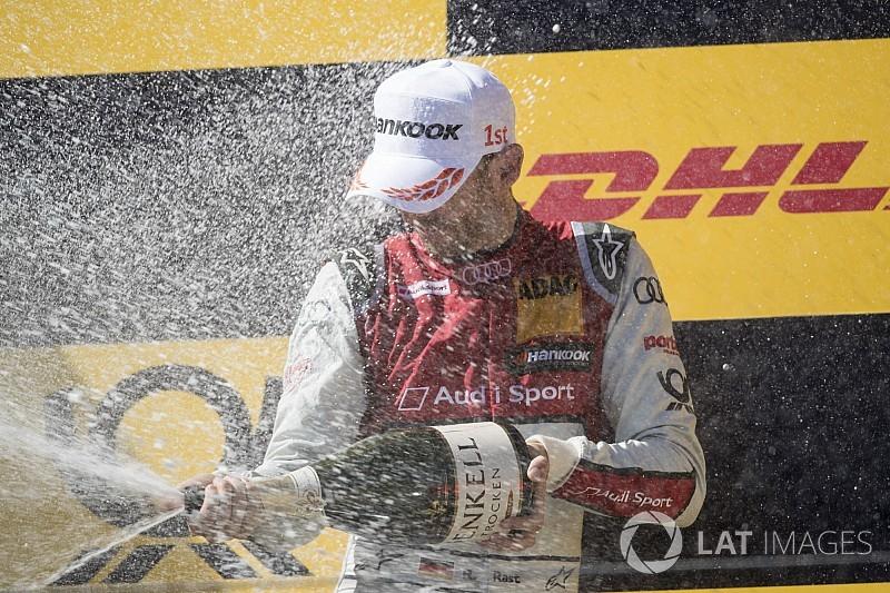 Rast vence en Nurburgring y Paffett se pone líder