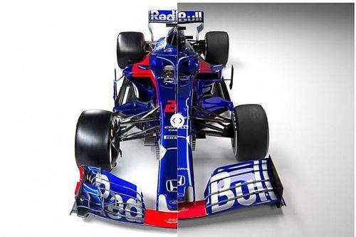 Vergleich Design Formel-1-Autos 2018 vs. 2019: Toro Rosso