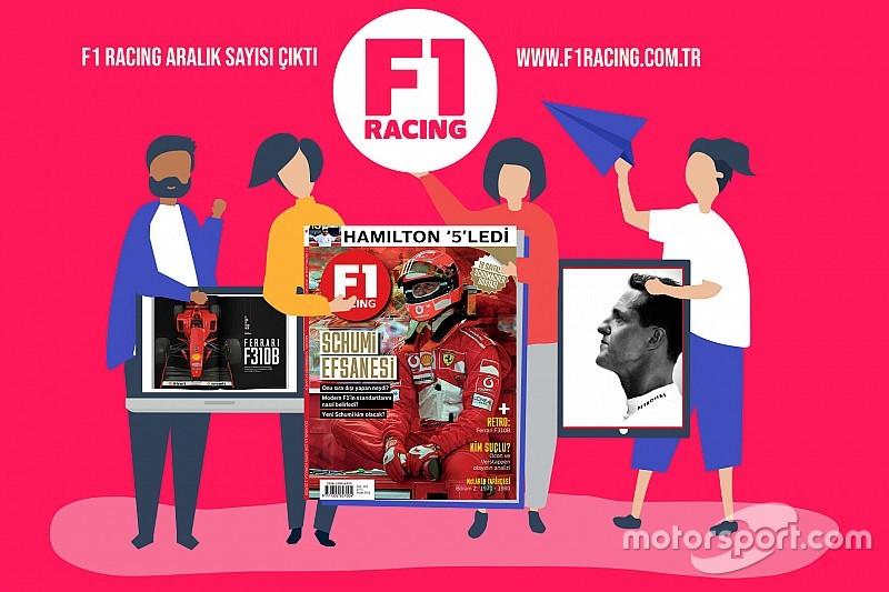 F1 Racing Aralık sayısı çıktı