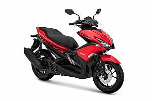 Warna baru Yamaha Aerox pertegas kesan sporty