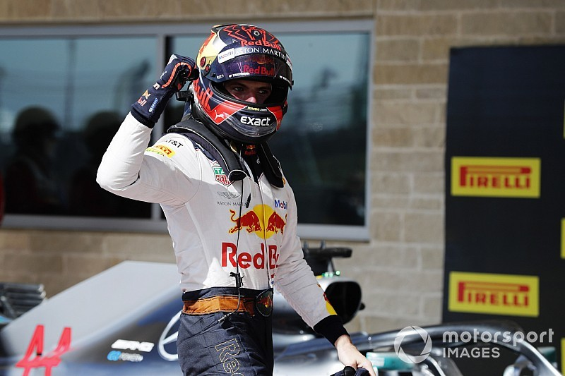 VÍDEO: Verstappen revela mudança de layout em capacete para 2019