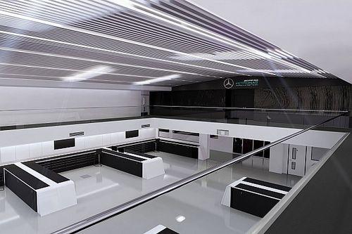"""Mercedes, Brackley'deki fabrikasında """"uzay çağı"""" güncellemeleri yaptı"""