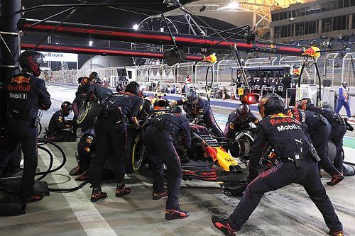 Die schnellsten Boxenstopps der Formel 1 2021
