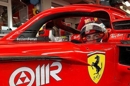 Sainz completa un gran premio en Fiorano con el SF71H