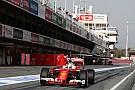 Vettel begins shaking down the SF16-H