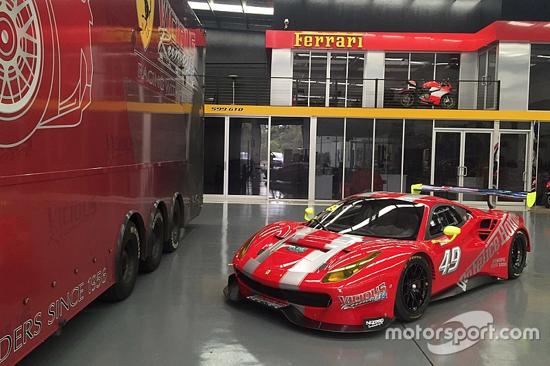 First Ferrari 488 GT3 lands in Australia