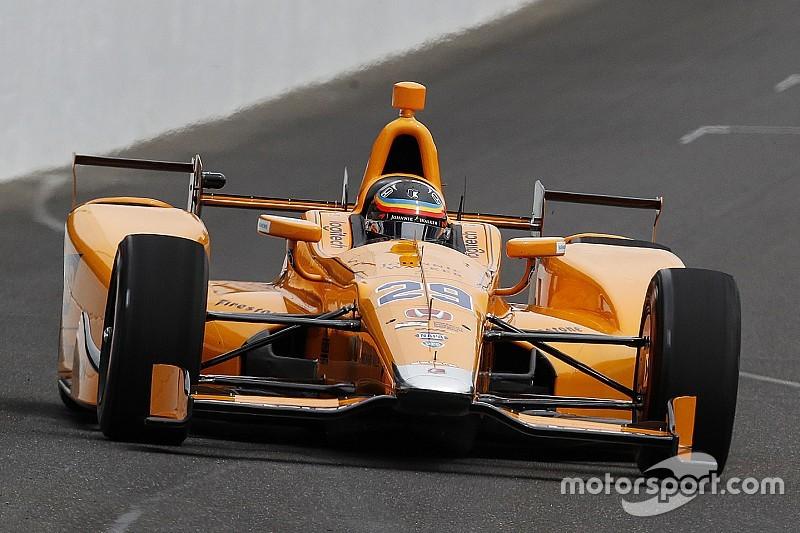 Alonso says 2018 IndyCar test