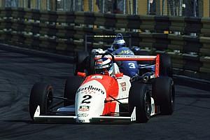 VIDEO: Schumacher vs. Hakkinen gran duelo en Macao 1990