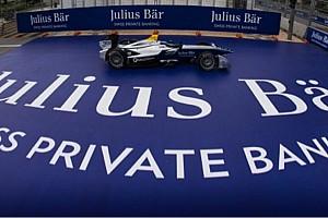 Formel E News Julius Bär Bank wird Hauptsponsor des ersten ePrix von Zürich