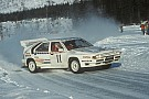 WRC Watch WRC's Group B cars in action in Rally Sweden 1986