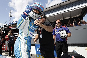 IndyCar Breaking news Pole-winner Sato admits he was nervous after Hunter-Reay shunt