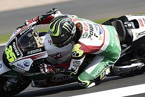 MotoGP Practice report Silverstone MotoGP: Crutchlow tops FP2, Marquez crashes