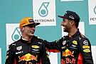 Verstappen: luta por título não mudará relação com Ricciardo