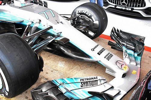 Mercedes asusta con una nueva trompa radical y un motor más potente