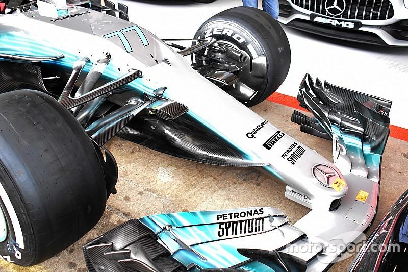 Mercedes представила радикальні оновлення боліду W08