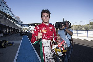 FIA F2 Race report Jerez F2: Leclerc crowned champion after crazy finish