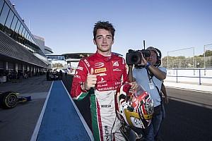 FIA F2 Reporte de la carrera Victoria y campeonato para Charles Leclerc en la Fórmula 2