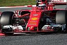 Ferrari termina la pretemporada adelante en Barcelona