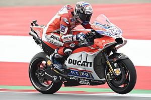 MotoGP Noticias de última hora Dovizioso estrenó el carenado de Ducati en Austria