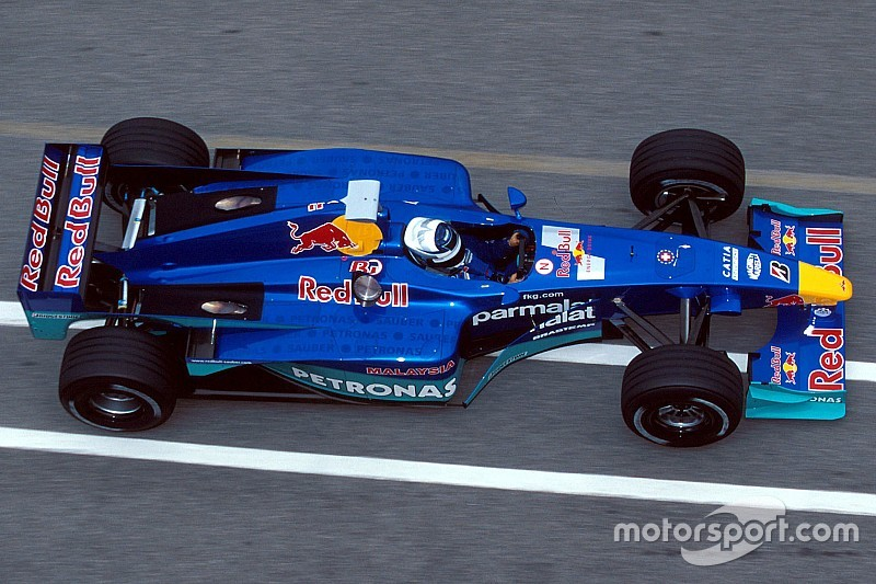 Gallery: All Sauber F1 cars since 1993