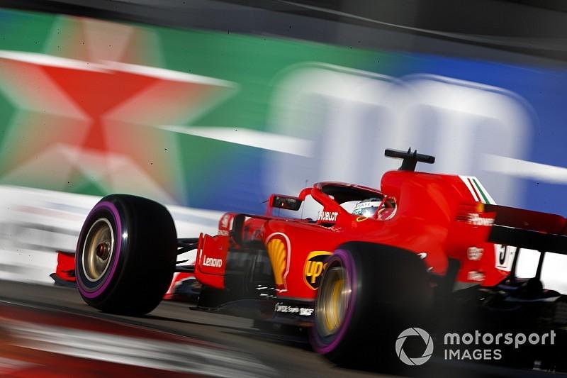 Pneus : Hamilton et Vettel avec la même sélection à Mexico