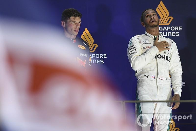Verstappen: Hamilton'ı