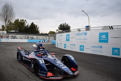 Rome E-Prix: Cassidy tops damp practice ahead of Guenther