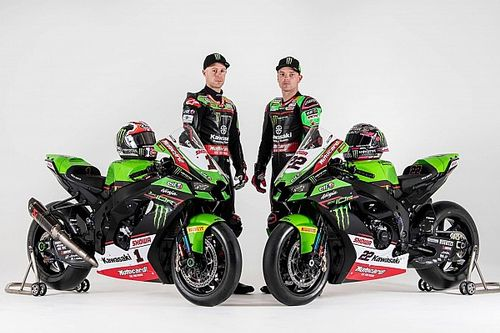 Kawasaki's new bike for 2021 WSBK season breaks cover