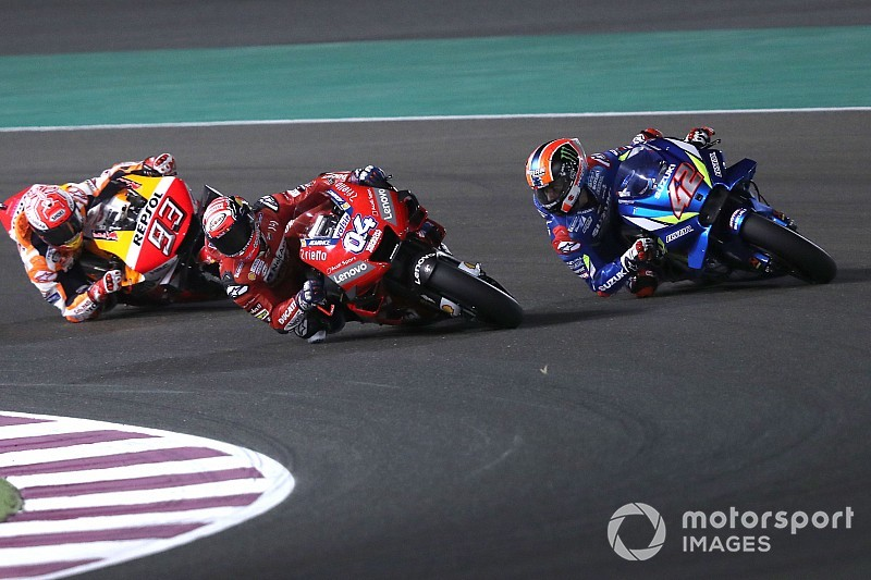 Rins admits Qatar MotoGP battles made him