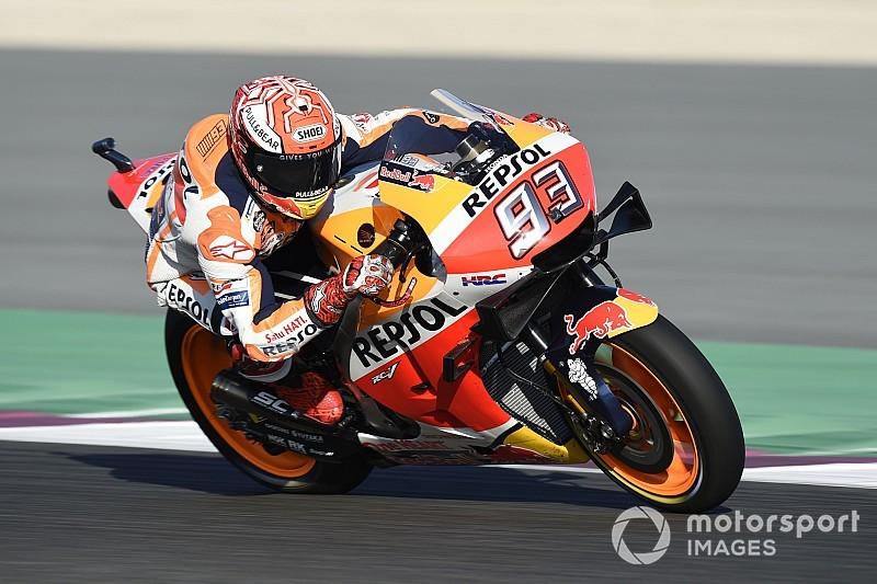 Marquez ondanks crash snelste in derde sessie, ook Lorenzo tegen de vlakte