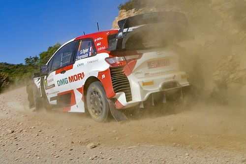 Italy WRC: Ogier leads Evans in Toyota 1-2 as Sordo crashes out